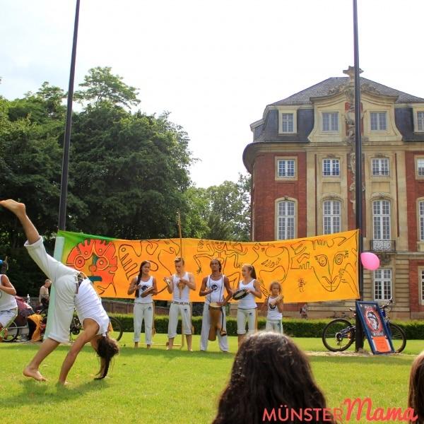 Capoeira_Muenster_Schloss