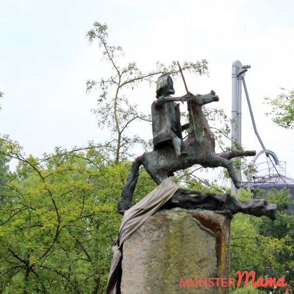 Hoffest_Reiter_Statue