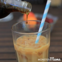 Iced Coffee mit Ahornsirup
