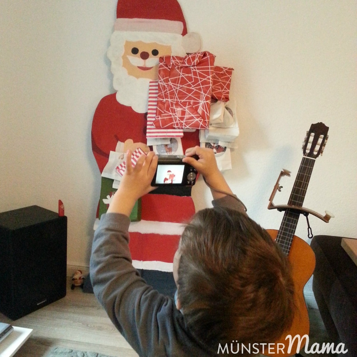 Nikolaus Adventskalender DIY