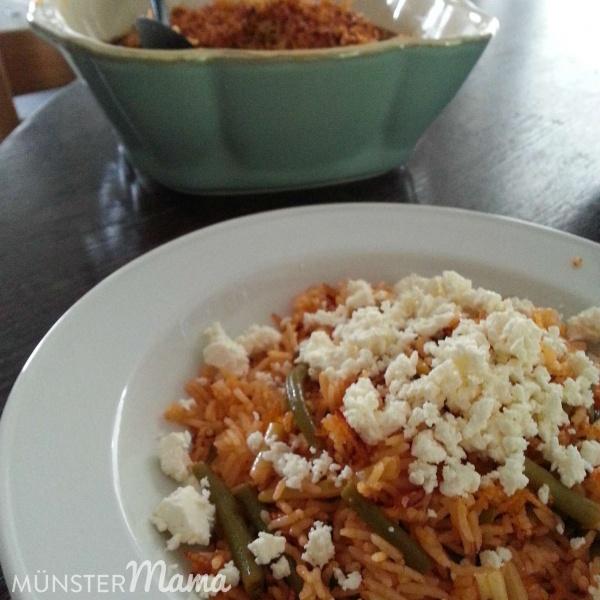 Reis-Bohnen-Topf