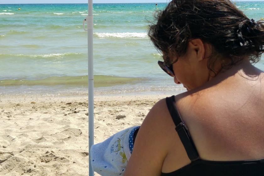 Stillen Mallorca Strand Kinder Familie ertrinken Urlaub