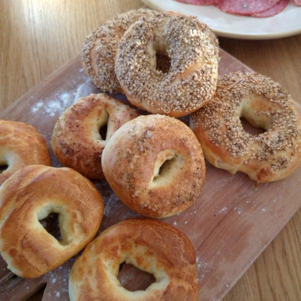 Crunchy Bagel Rezept