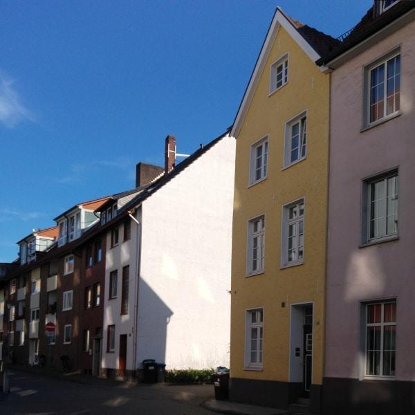 Häuserzeilen in Münster