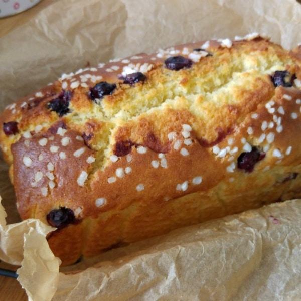 Blaubeer-Kuchen mit Hagelzucker
