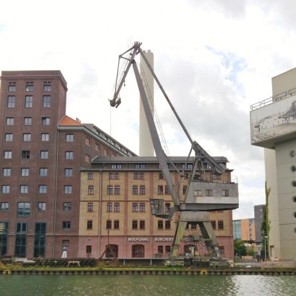 Hafen Münster Kranromantik