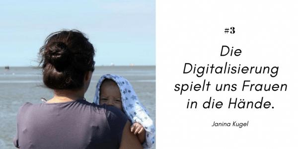 Janina Kugel über Digitalisierung