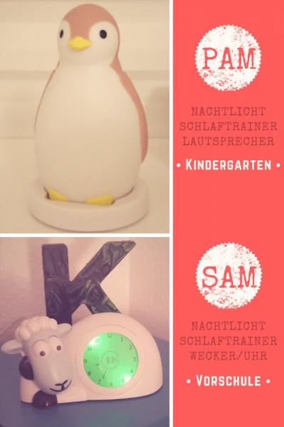 Babymarkende - PAM-SAM-Schlaftrainer-Wecker-Münstermama