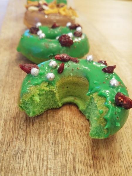 Donut-grün-Cranberry-Biss-lecker-Rezept
