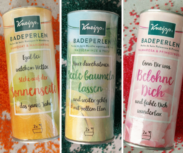 Kneipp Badeperlen Set Verlosung Münstermama