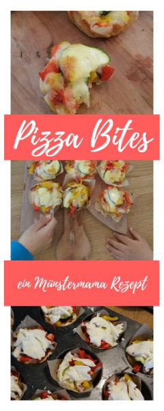 Pizza Bites Pinterest Münstermama Rezept Münster