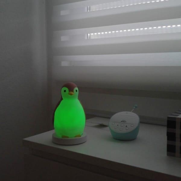 babymarken.de PAM Nachtlicht Pinguin Kinderzimmer Kindergeburtstag Weihnachten
