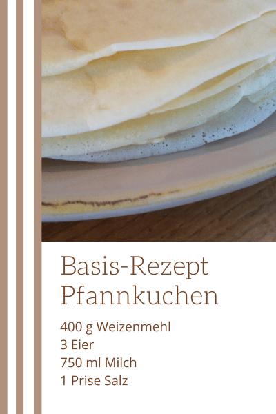 Basis-Rezept Pfannkuchen Pin Zutaten Eierkuchen schnell einfach lecker