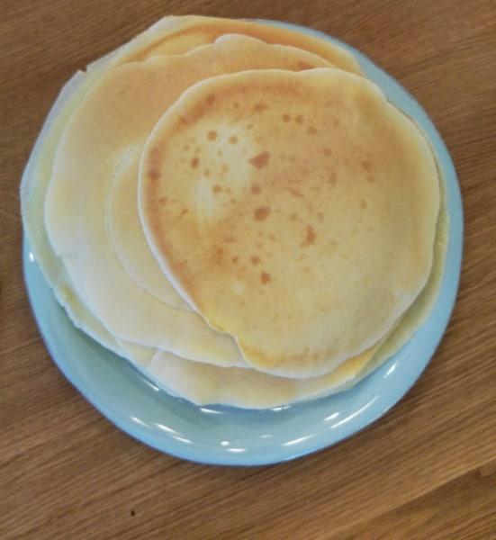 Eierkuchen Pfannkuchen Fladen Rezept lecker Familie Essen münster