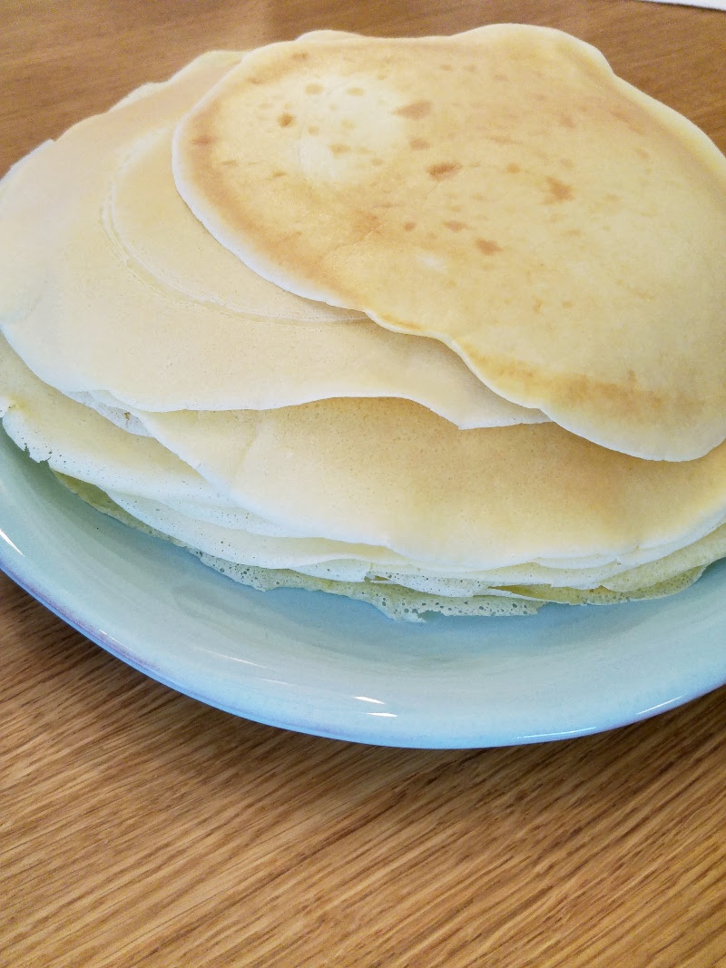 Lecker Pfannkuchen Rezept einfach Familienessen Küche Basis Studenten