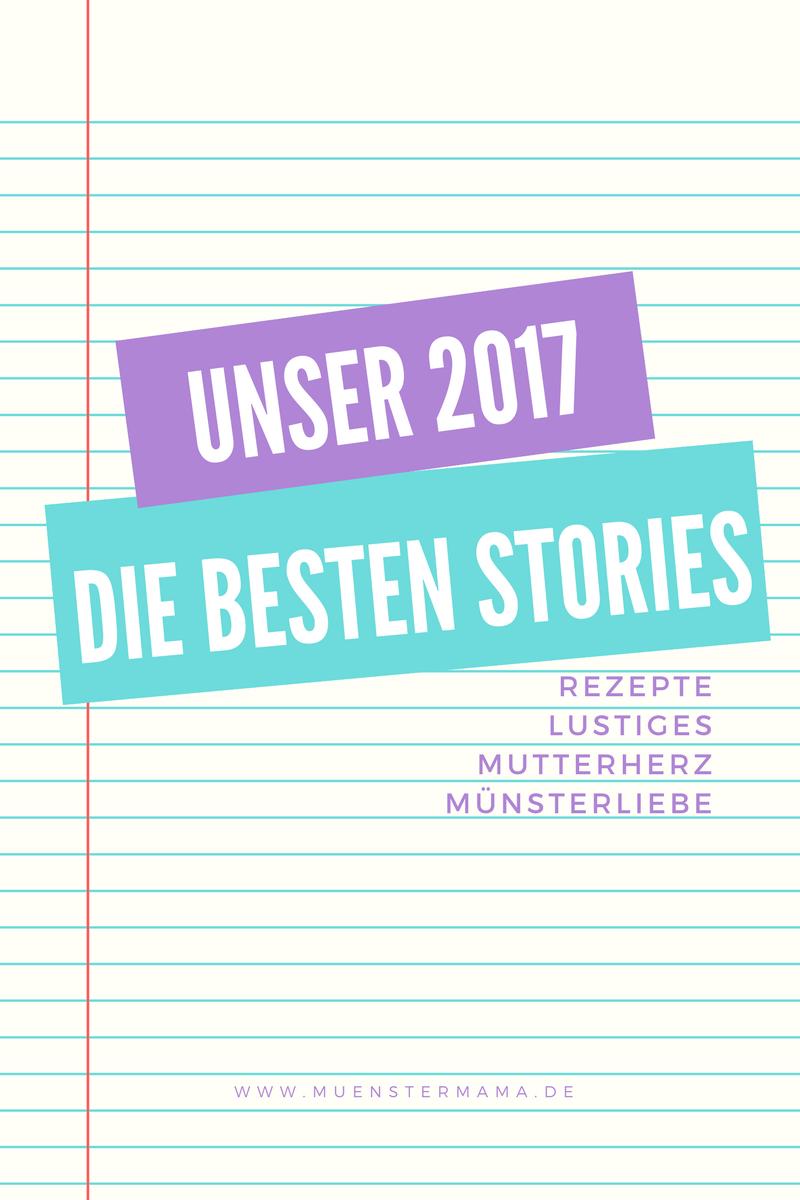 2017 Jahresrückblick Münstermama Blogger Mamablog Münster mit Kindern Familie Rezepte Familienessen
