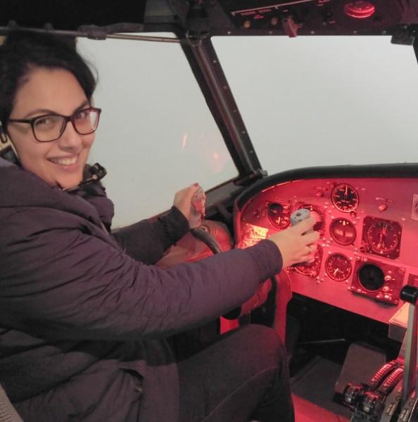 Aeronauticum-Cuxhaven-Ausflug-Flugzeug-Cockpit-Pilot-Kinder-Alltagslernen-Spielen-Mamablog-Münstermama