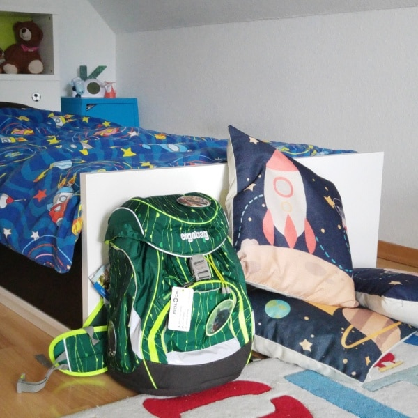 ergobag-pack-Schultasche-Ranzen-Rucksack-Einschulung-Schulstart-Sohn