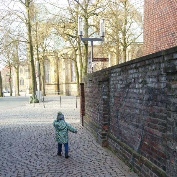 Domgasse Münster Dom Prinzipalmarkt Gottesdienst Münstermama Familie Kinder Münsterjungs