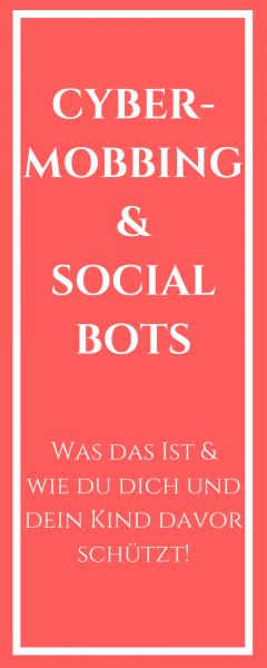 Social Bot Schutz Cyber-Mobbing Münstermama