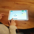 Kinder am Smartphone & Tablet
