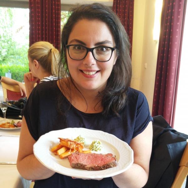 Bio-Rindfleisch-Fleisch-Roastbeef-Rumpsteak-Süßkartoffel-Bärlauch-Münstermama-Leila Prousch