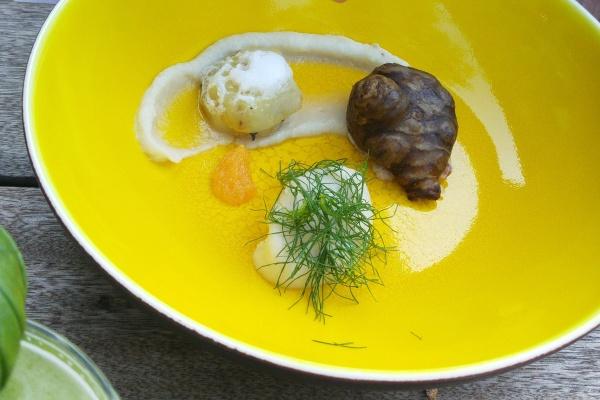 Felchen-Tartar-Topinambur-Dill-Rotkehlchen-Restaurant-Empfehlung-Münstermama-Date-Night-Münster