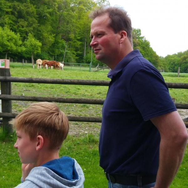 Generationen Rinderherde Landwirtschaft Familienbetrieb Münsterland Foodblogger Event Münsterland Siegel