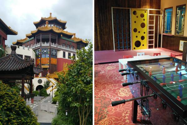 Hotel-Ling-Bao-Familienzimmer-Spielzimmer-Toberaum-Familie-Urlaub-Phantasialand-münster-collage