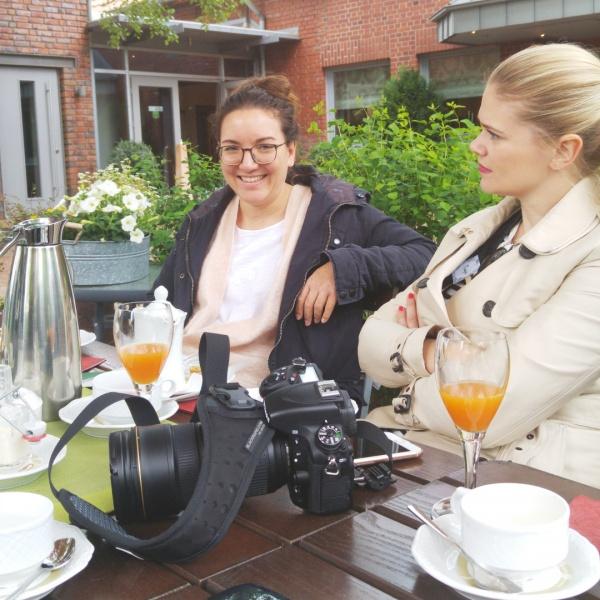 Lisa Nieschlag-Tanja Farwick-Foodistas-Münsterland-Hohen Hagen-Landgasthof-Foodblogger-Münster