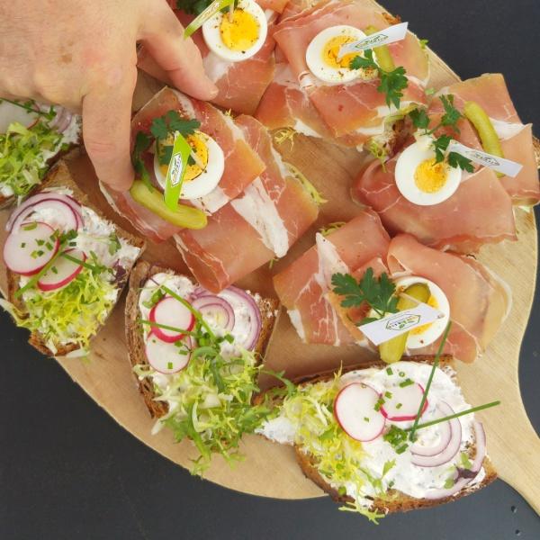 Stullen Schnittchen Aufschnitt Aufstrick Brote Bei Kliewe Beckum Westfälischer Hof Werse Radweg