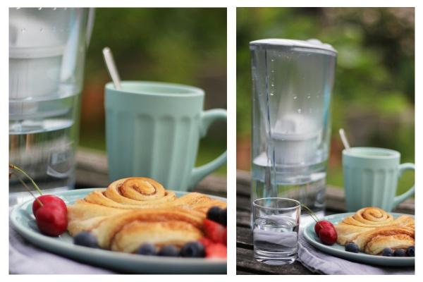 Collage BRITA Tischwasserfilter