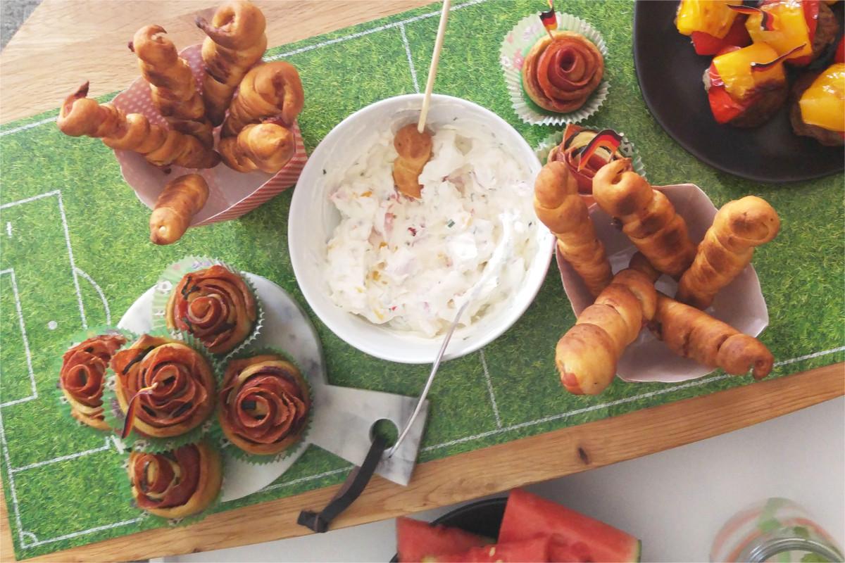 Sympathisch Fingerfood Kindergeburtstag Sammlung Von Fußball-party-wm2018-stockbrot-rezept-fingerfood-meine-backbox