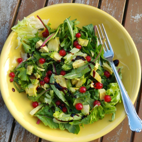 Salat-Johannisbeeren-Münstermama-Rezept Rucola Salat Salatliebe