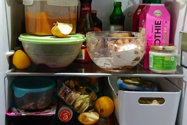 Familienessen-Küche-Kühlschrank-Münstermama