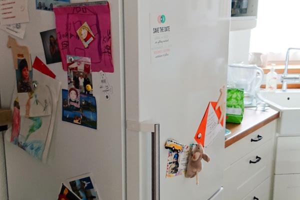 Kühlschrank Küche Dankbarkeit Familie Eltern