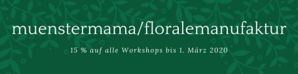 Rabattcode Florale Manufaktur