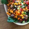 Orientalischer Süßkartoffelsalat