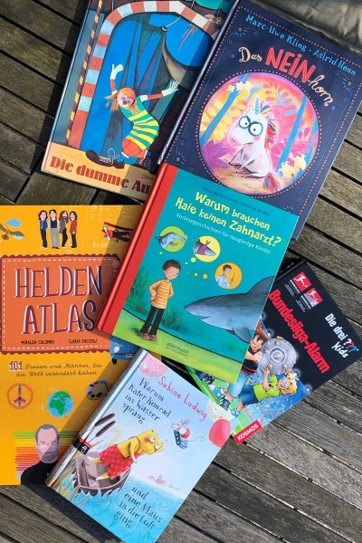 Bücher zum Lesen und Vorlesen Kinderbücher