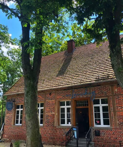 Das Lauschig: In dem Fachwerkhaus befand sich früher das Alte Gasthaus Scharlau