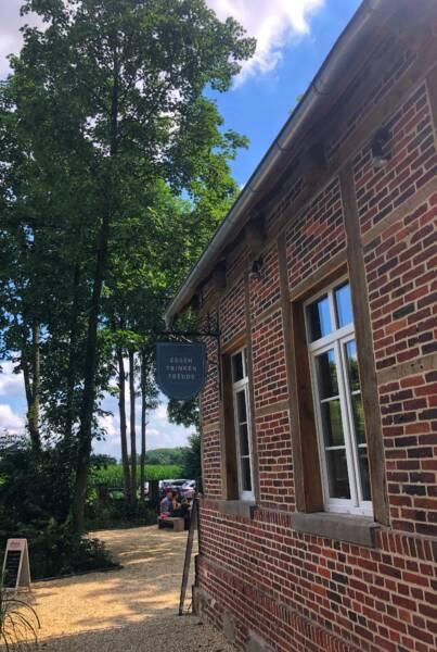 Kinderfreundliches Restaurant in Havixbeck: Das Lauschig: Vom Biergaretn aus hat man einen super Blick auf die Baumberge