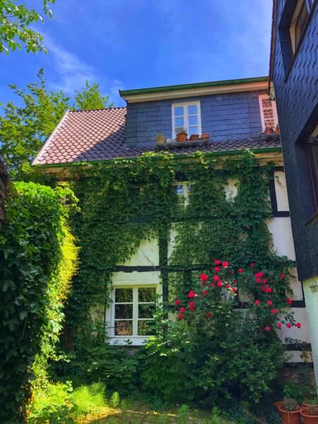 Mit der Leeze von Wuppertal nach Münster: Alte Fachwerkhäuser in Hattingen