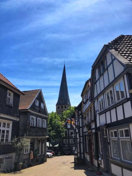 Mit der Leeze von Wuppertal nach Münster: Bummel durch Hattingen