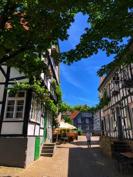 Mit der Leeze von Wuppertal nach Münster: malerische Plätze in Hattingen