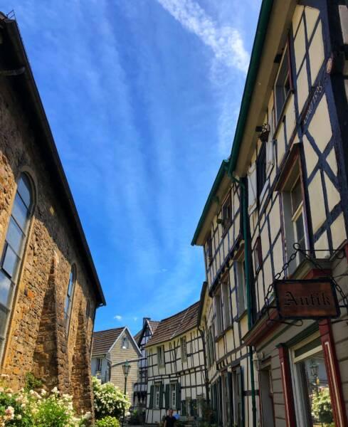 Mit der Leeze von Wuppertal nach Münster: Wunderschönes Hattingen