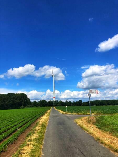 Mit der Leeze von Wuppertal nach Münster: Zurück im Münsterland